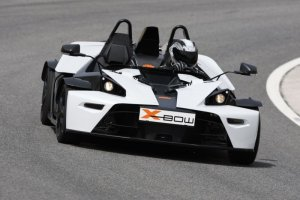 KTM XBow (2008) / Front, Action
